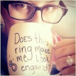 I'm engaged & I'm taking it slow~