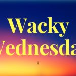 Wacky Wednesday- I'm Tripping Over Animals